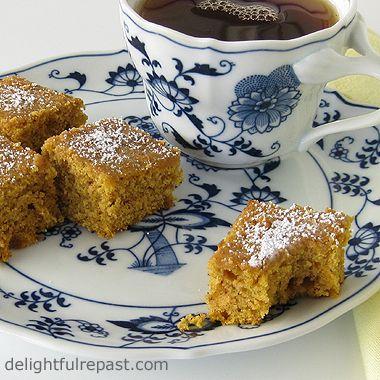 Delightful Repast: Pumpkin Tea Cakes - An Alternative to Sugary Petits ...