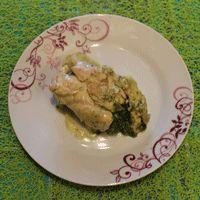 involtini di pollo con ripieno di spinaci e speck