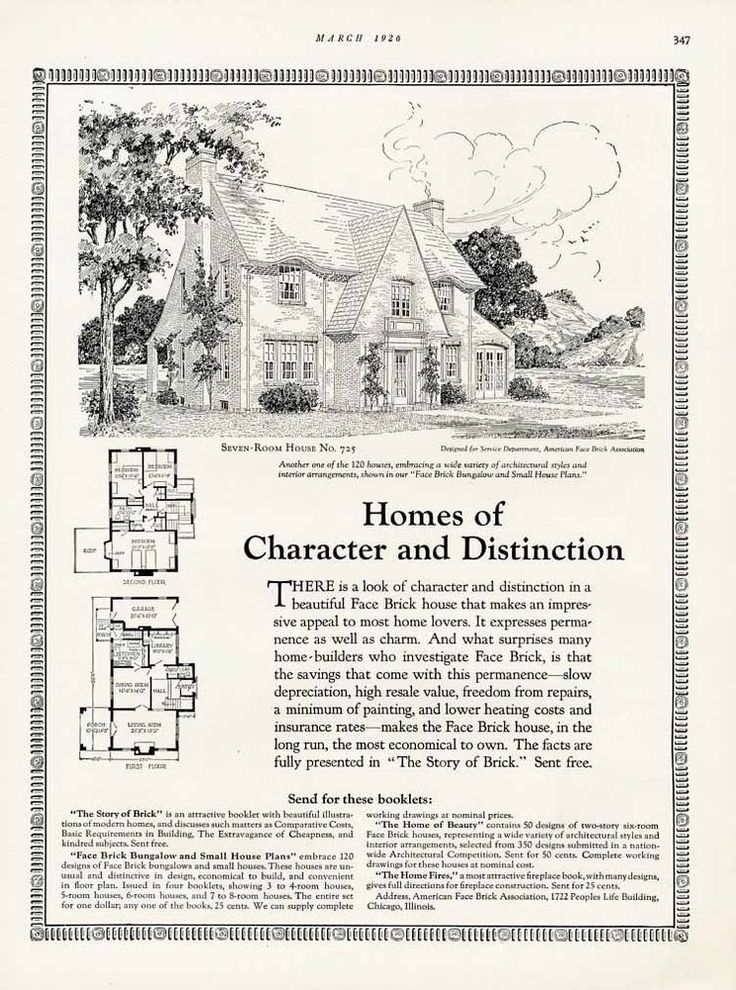 896 best Historic Floor Plans images on Pinterest | Vintage houses ...