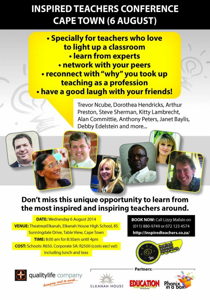 Inspired Teachers...Don't miss out!