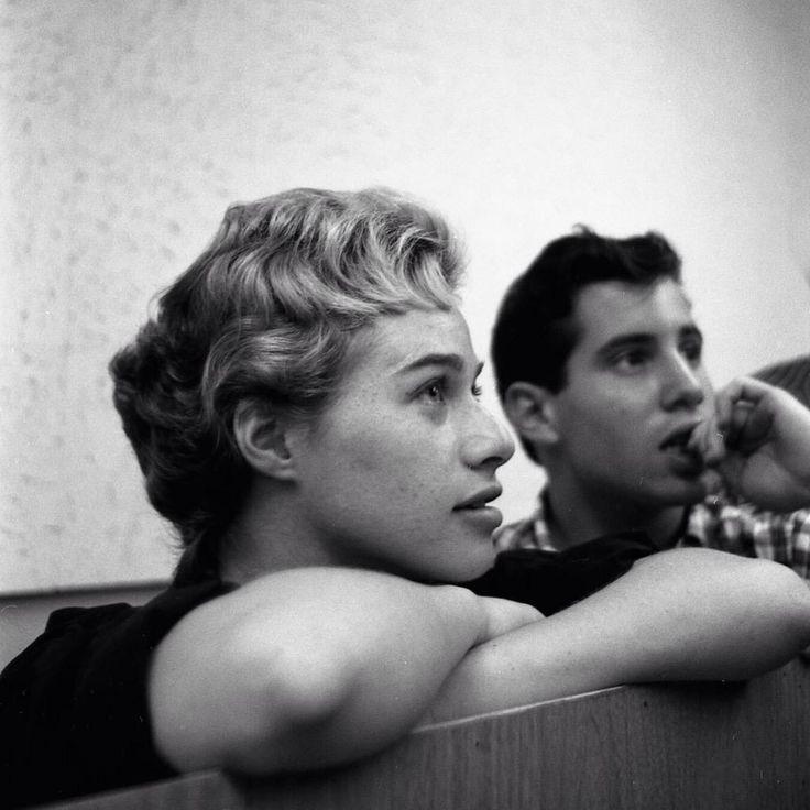 Carole King and Paul Simon '59 courtesy Sony Music Archives