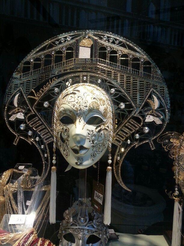 Máscara, Venecia.