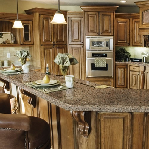 Quartz Kitchen Ideas: Quartz Countertops - Cabo