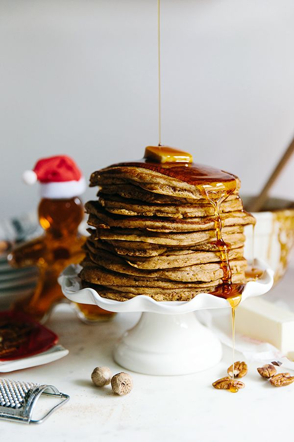 Gingerbread Pancakes on Christmas Morning | Gingerbread ...