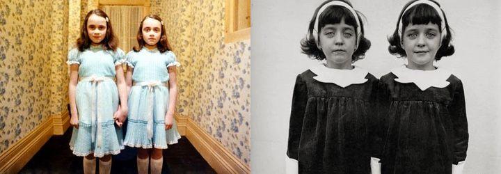 Las gemelas de 'El resplandor' y la fotografía 'Gemelas idénticas' de Diane Arbus
