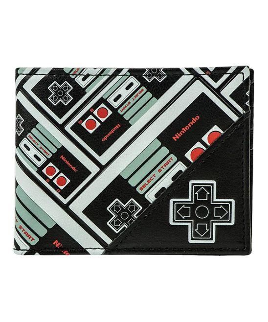 Nintendo Entertainment System Controller Allover Bifold Wallet