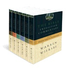 The Bible Exposition Commentary by Warren Wiersbe (always reading this) It will blow up your heart & enable you to understand God's Word like never before!  I use it to study for teaching Bible Study in jail.