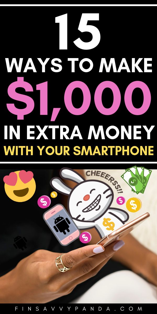 How I Make Extra Money With The Best iPhone and Android Apps – Apps that pay