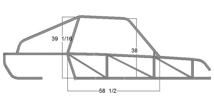 Sand Rail Frame Plans