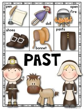{Today and the Past} Posters for Social Studies Kindergarten and First Grade. $