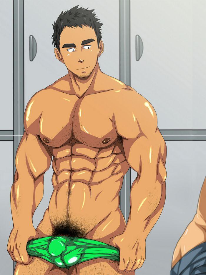 Gay porn cartoon