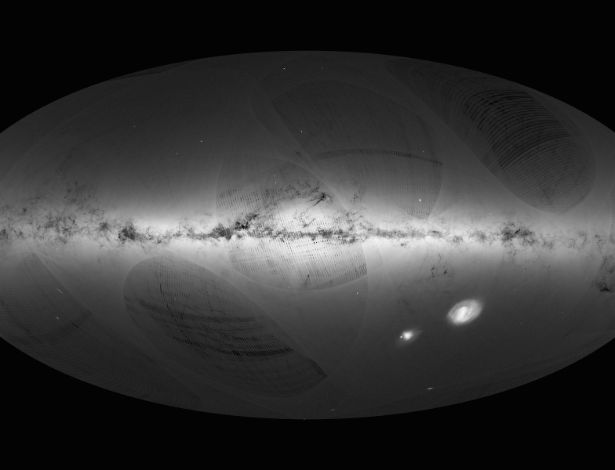 Divulgado o mapa mais detalhado da Via Láctea com 1 bilhão de estrelas