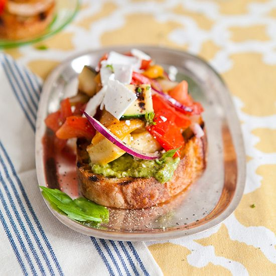 Summer Hors d'Oeuvres on Food & Wine