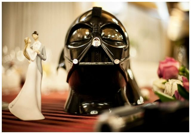 star wars wedding inspiration invitation cake topper invitacion guerra de las galaxias 2