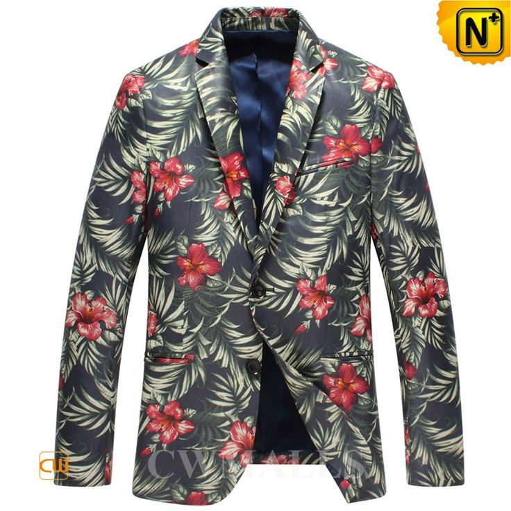 CWMALLS Designer Printed Leather Blazer for Men CW816123 Stylish leather blazer for men featuring with two button fastening and allover floral pattern, designer men's leather blazer crafted from genuine lambskin leather, and fully lined,this luxury floral leather blazer will go well with everything you own. www.cwmalls.com PayPal Available (Price: $867.89) Email:sales@cwmalls.com
