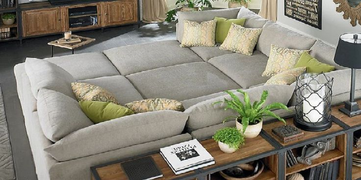 Contemporary Sectional Pit Sofa
