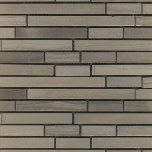 Product ID:MARCOEVOIW 12X12 Coevo Ironwood Mosaic #Profiletile
