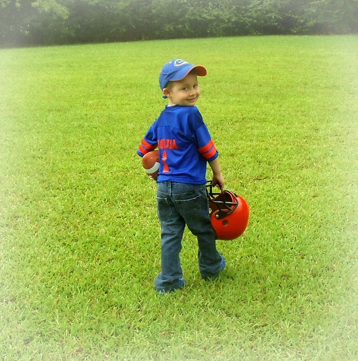 FL Gator Football Birthday Boy Pics