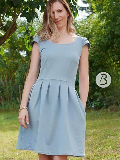 d2e9cfe3add Du bist Gast auf einer Hochzeit und suchst noch das perfekte Kleid  Mit dem  Schnittmuster