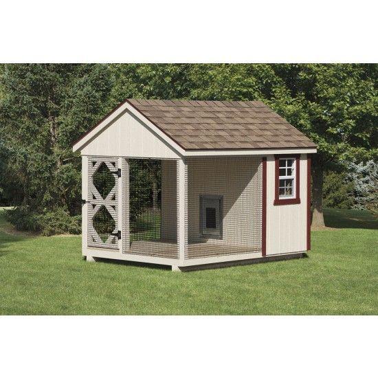 Amish classic dog kennel kit amish dog kennels for Amish dog kennels for sale