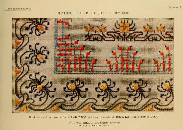 Motifs pour broderies. (IIIme série) No. 3