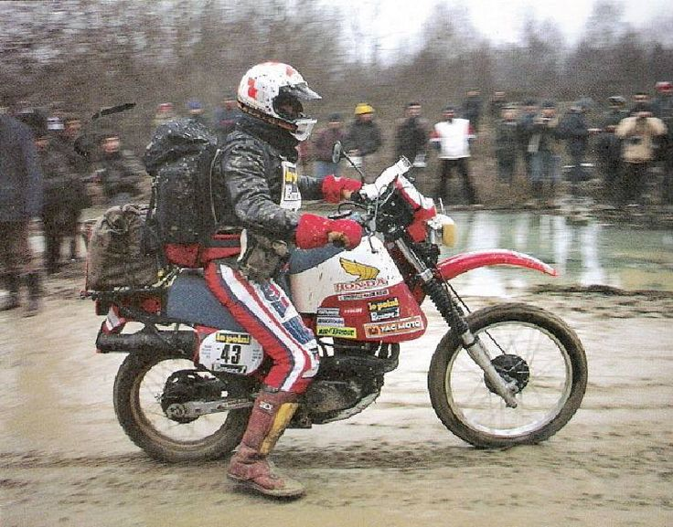 Philippe AURIBAULT - Dakar Prologue N°43 - Paris Dakar 1983