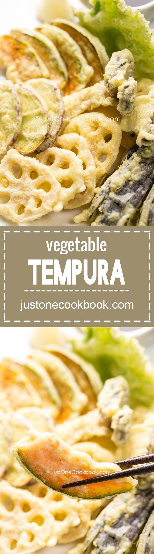 Vegetable Tempura (野菜の天ぷら) | Easy Japanese Recipes at JustOneCookbook.com