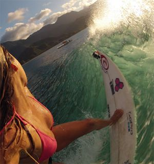 Surfer chick - I think this might be Alana Blanchard???