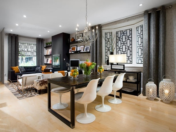 classy candice olson living rooms pictures. Featured on HGTV s  Candice Tells All a combination living room dining space united with the use of interior mounted roller shades in Delia Shades 126 best Deco2 Olson images Pinterest olson