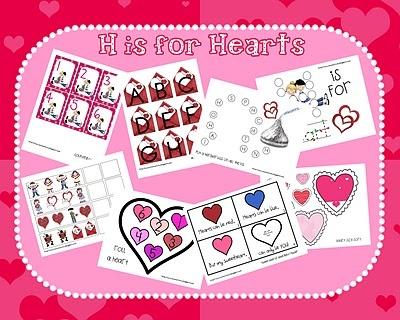 Pre k unit: Heart United, Heart Fun, Preschool Theme, Schools Ideas, Valentines Day, Valentine'S S, Valentines United, Valentines Preschool, Heart Printable