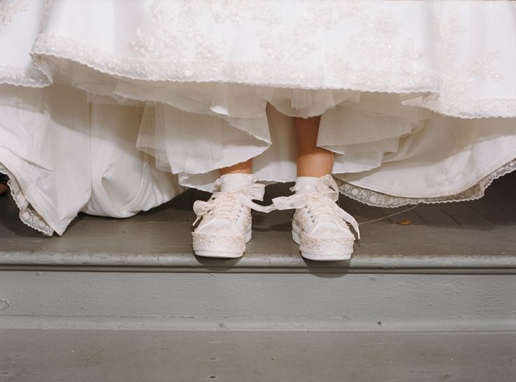 Wedding Sneakers for Brides