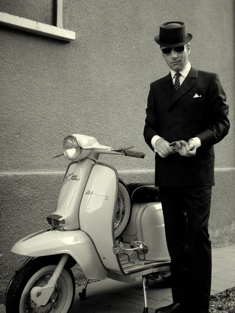 Mod in Pork Pie Hat