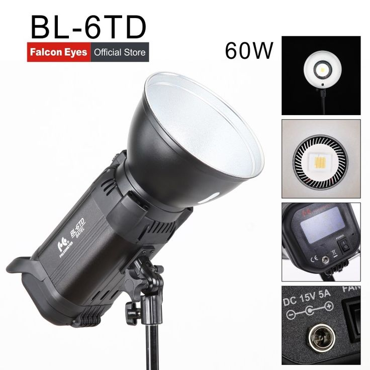 Promo offer US $351.00  Falcon Eyes Battery LED Light 60W Photography Light Bi-color Adjustable Color Temperature Fill Light BL-6TD  #Falcon #Eyes #Battery #Light #Photography #Bicolor #Adjustable #Color #Temperature #Fill #BLTD  #OnlineShop