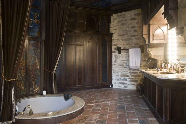 Best 25 modern castle ideas on pinterest luxury for Gothic bathroom ideas