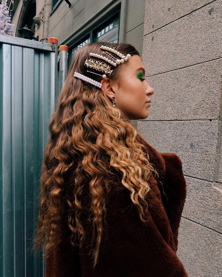 Estes são os 5 penteados mais bonitos dos influenciadores para o Natal   – Haarspangen & Haarklammern