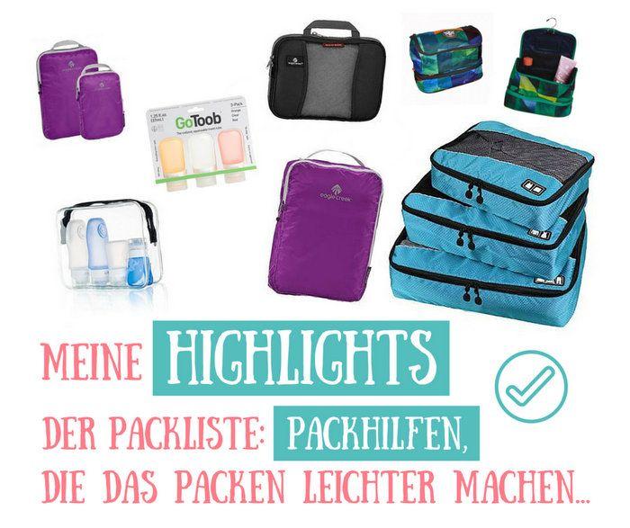 Die Packliste wird endlos, der Rucksack mit ihr völlig unübersichtlich und Du findest nichts mehr wieder? Jetzt gibt es Abhilfe und Erleichterung) dafür!
