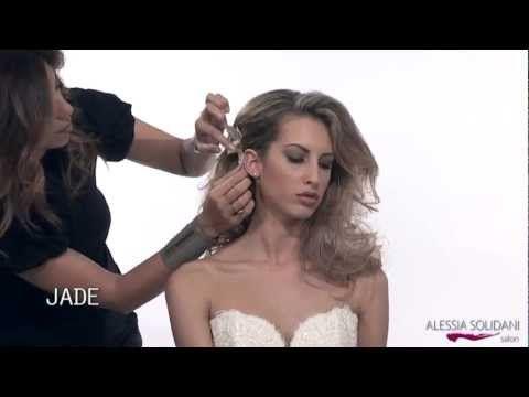 Alessia Solidani - Acconciatura Sposa Collezione 2013.mp4