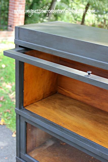 My Passion For Decor: Graphite Barrister Bookcase For Sean