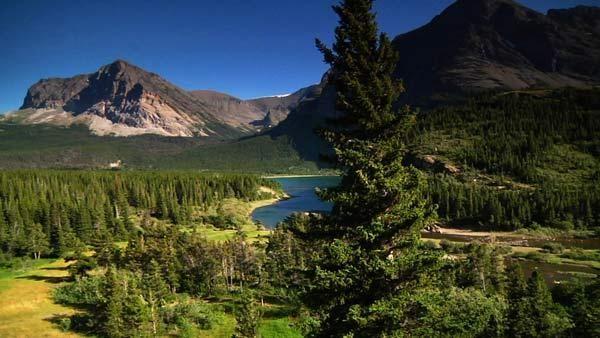 The Swiftcurrent Motor Inn. Glacier National Park