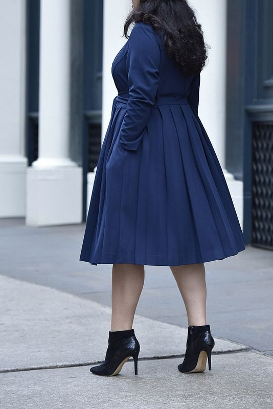 e7ecef9e640b1 Girl With Curves X Lane Bryant Collection Pleated Trench Via   GirlWithCurves  GWCxLB  fashion  outfits  blogger
