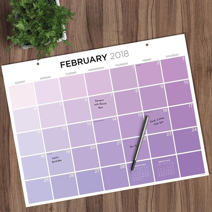 Dress up your workspace with our chic, full-color desk blotter calendars. Large monthly grids provide plenty of writing space and visibility to track your schedule, note appointments and jot down to-dos or reminders.