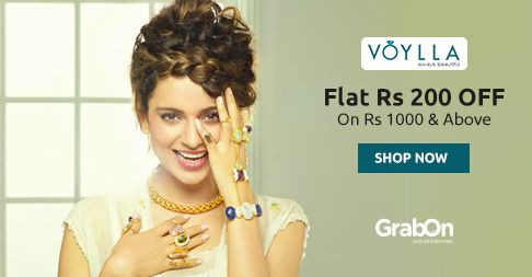Gift Her Something Trendy yet Eternal! Gift Her #Jewelry. Get Rs 200 OFF On Rs 1000 Only @ #Voylla. http://www.grabon.in/voylla-coupons/ #SaveOnGrabOn