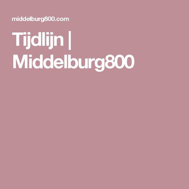 Tijdlijn | Middelburg800