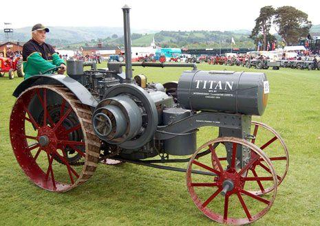 International Harvester Titan 10-20 ... =====>Information=====> https://www.pinterest.com/arthurshetler/tractors-construction-and-implement-equipment/