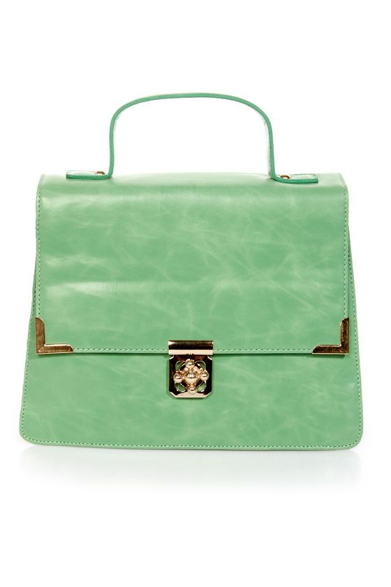 73 best Mean Green images on Pinterest   Green purse, Bags and ...