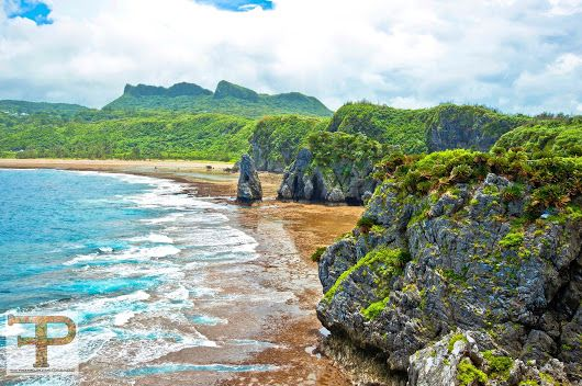 Waves crashing against the shore of Cape Hedo, Okinawa. #timfranklinphotograp...