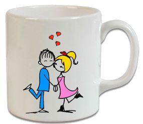 Aşıklar – Sevgiliye Hediye Kupa - Şu An Sadece 14,90 TL! Online Siparişe Özel Tasarımlar, Mağazalarda Yok! - Kapıda Ödeme - Süper Baskı ve Penye Kalitesi