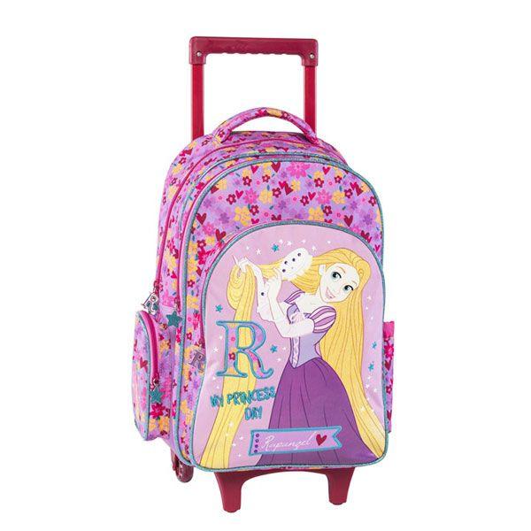 Rapunzel Σχολική Τσάντα Δημοτικού Trolley
