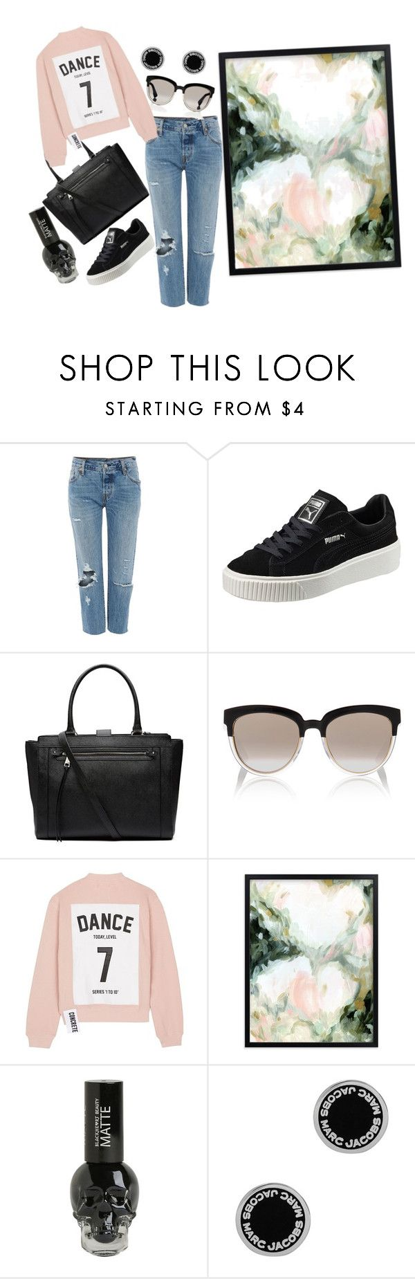 """autumn #3"" by evitaom on Polyvore featuring Levi's, Puma, Witchery, Christian Dior, Studio Concrete and Marc Jacobs"