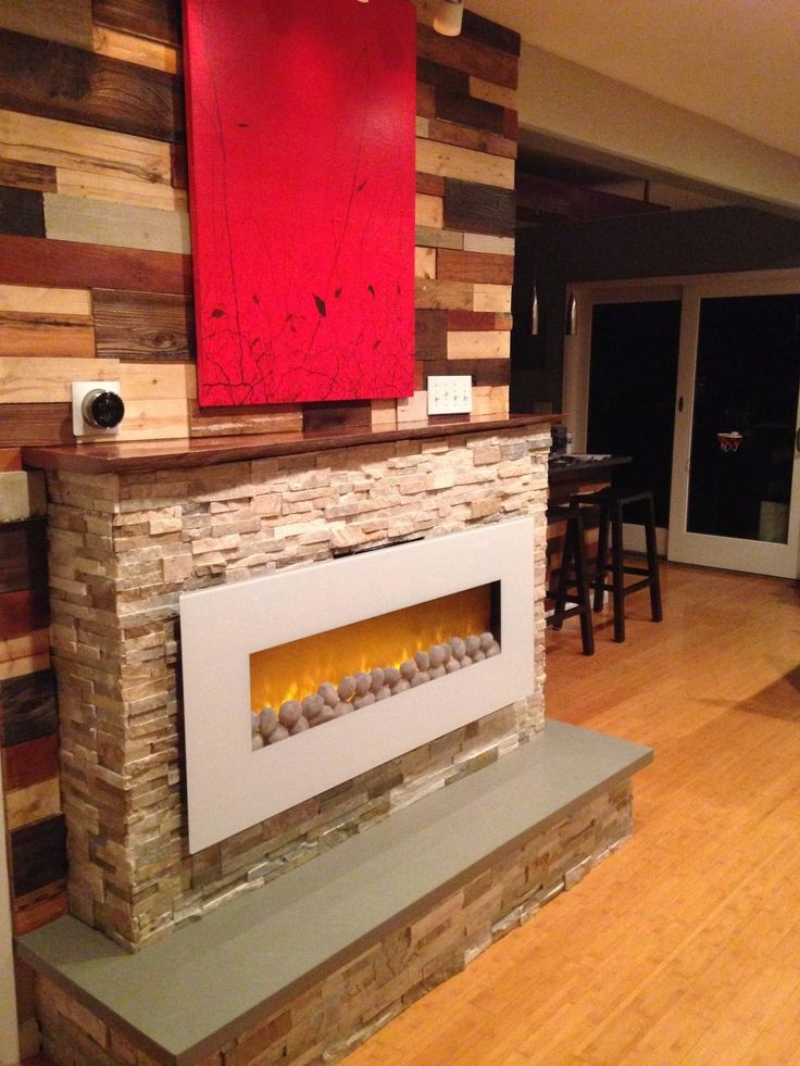 Improve House Appearance With Fireless Fireplace : ... Pinterest  Fireplace Heater, Corner Electric Fireplace and Fireplaces